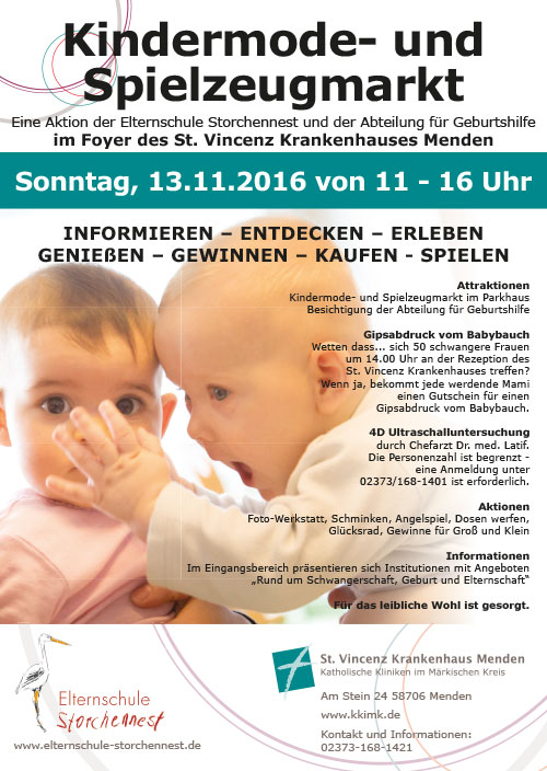 Kindermode- und Spielzeugmarkt 2016