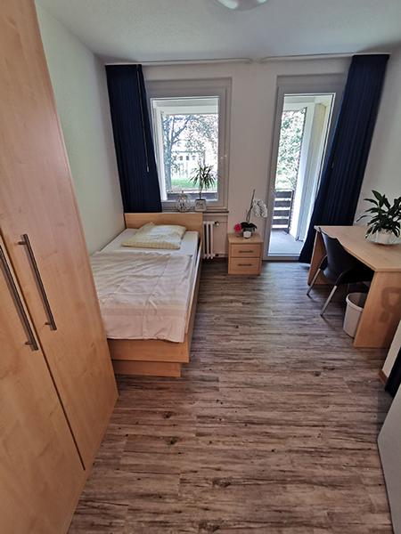 Wohnheimzimmer